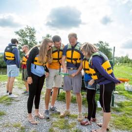 Sicherheit und Verhaltensweisen beim Wasserwandern