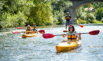 Touren im Kanu Kajak oder Schlauchboot