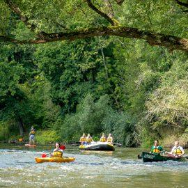 Jena-Dornburg Saale Mangroven - Saalestrand-Kanu