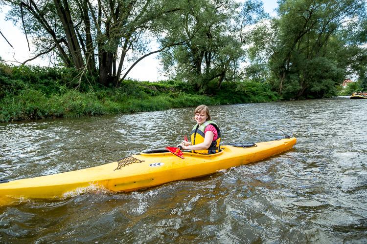 ausrüstung kayak fahren
