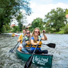 Jena-Naumburg - Saalestrand-Kanu